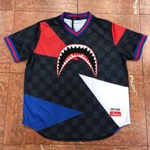 Men's Shark Mouth 2.0 Baseball Jersey By Hudson - $71.10