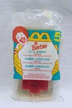 Vintage Sealed 1995 Mc Donald's Usa Barbie Doll - $14.84