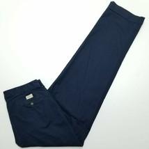 Polo Ralph Lauren Navy Blue Chino Pants - Double Pleat & Cuffed - 34x34 - $34.65