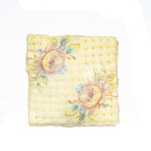 DOLLHOUSE MINIATURES EMBROIDERED PILLOW #B1630 - $0.99