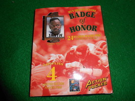 ACTION PACKED...NFL's Greatest Players-4 Pins SMITH-IRVIN-KOSAR-BLEDSOE - $7.92