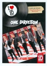 One Direction trading card (One Direction 1D) 2013 Panini Take Me Home T... - $4.00