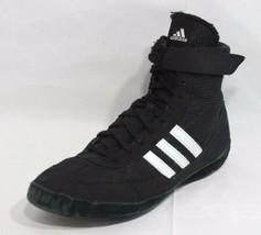 Adidas Hombre Gimnasio Lucha Zapatos Boxeo Peso Negro Cordones Hi Top Ta... - $23.05