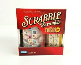 Scrabble Scramble To Go Game Travel Game Parker Brothers Hasbro 2+ Playe... - $11.99