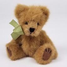 """Boyds Bear Teddy Plush w/ Green Bow 5"""" - $6.67"""