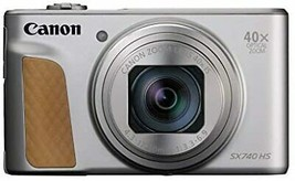 Canon Compact Digital Camera PowerShot SX740 HS Silver 40x Optical zoom ... - $589.63