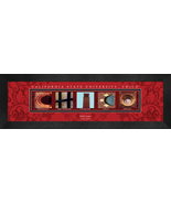 Personalized California State University - Chico Campus Letter Art Frame... - $39.95