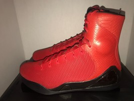"Nike Kobe 9 High Krm Ext Qs ""Red Mamba"" Men's Size 13 DS 716993 600 - £221.42 GBP"