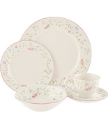JOHNSON BROTHERS SUMMER CHINTZ 35 PIECE DINNER SET FLORAL MADE IN ENGL... - $744.75