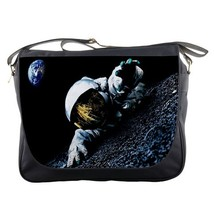 Messenger Bag Astronot Slothf Parody NASA Space Sloth In Galaxy Animation Fantas - $30.00