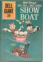 Dell Giant Comic Book #55 Walt Disneys Uncle Scrooge Showboat 1961 FINE+ Art Cvr - $43.46