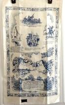 Vintage Kay Dee Handprints Linen Souviner Mt Rushore Towel New with Tags - $14.80