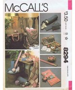 McCall's 8294 Sewing Pattern Embroiderer's, Tote, Liner, Knitting, Croch... - $11.87