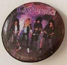 """Vintage 1-1/2"""" pinback button: CINDERELLA - $4.95"""