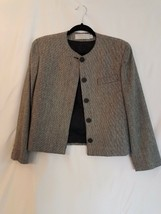 Evan-Picone Women's Four Button Blazer Size 8 Work /Career houndstooth - $17.32