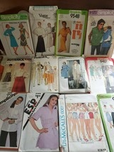 20.15.7--Lot of 15 Vintage sewing patterns from 1970's for women, ladies, Vogue, - $24.74