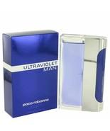 ULTRAVIOLET by Paco Rabanne Eau De Toilette Spray 3.4 oz for Men - $57.48