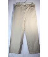 Liz Claiborne New York Jackie Khaki Casual Pants Straight Leg Womens Pet... - $14.84