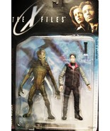 The X-Files Agent Mulder & Alien 1998 Action Figure by McFarlane Toys NI... - $25.98