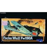 MPC 1/72 Focke Wulf Fw190A Model Airplane Kit 1-4001 Factory Sealed 1982... - $14.84
