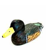 Heritage Mint Ltd Wooden Duck Hand Painted Vintage Decor Glass Eyes 12 i... - $43.56
