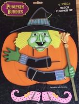 Pumpkin Buddies 5 Piece Witch Pumpkin Decorating Kit - $11.39
