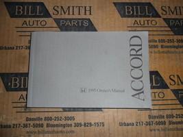 Owners Manual OEM For 1995 Honda Accord 524609 - $39.65