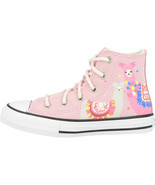Converse Chuck Taylor All Star Suede Shoe Girls Size 11M Pink 665865C - $62.32