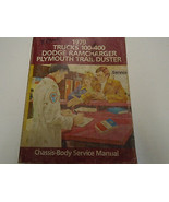 1979 Dodge RAMCHARGER Truck 100 400 Trail Duster Service Shop Repair Manual OEM - $89.05