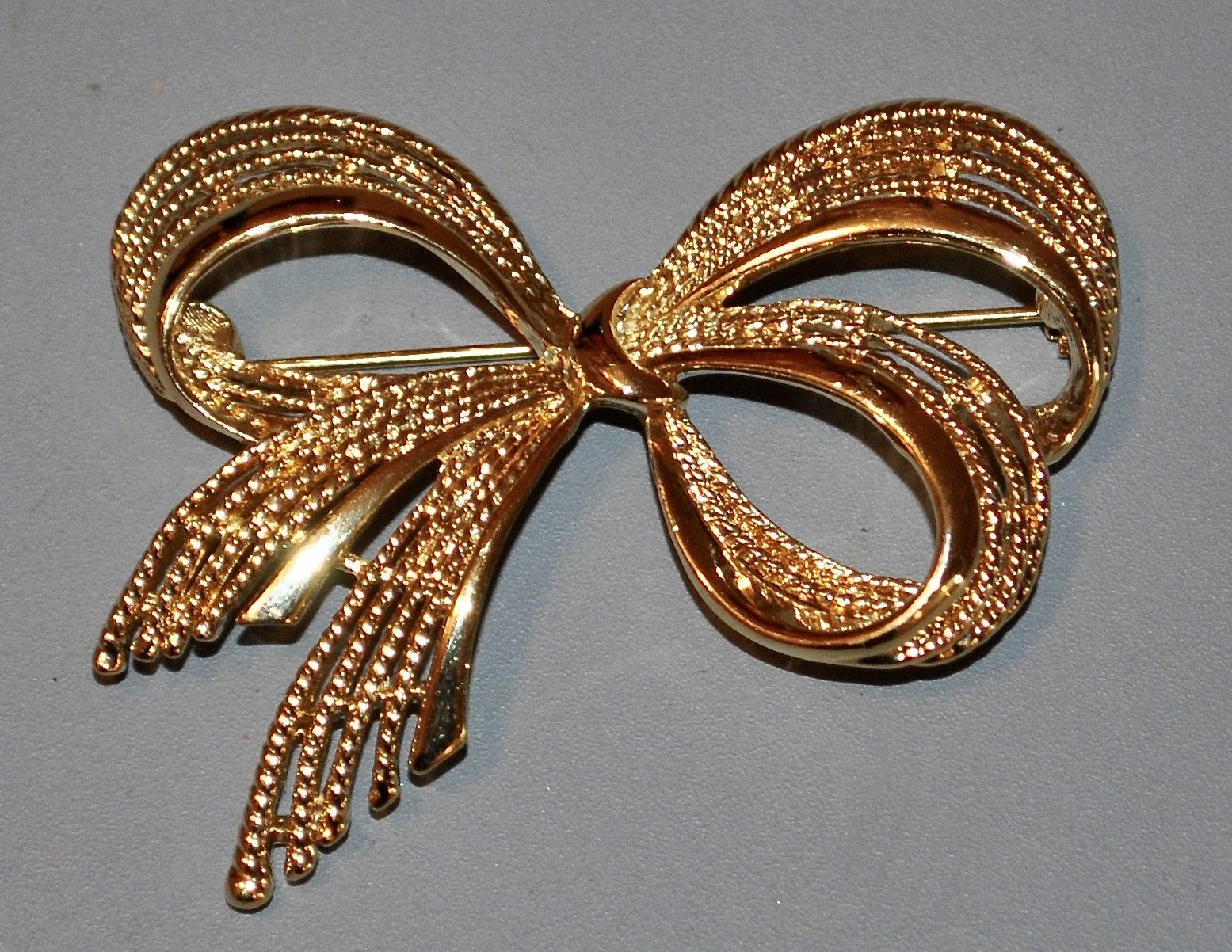 Vintage Napier Gold Toned Bow BROOCH Pin and 41 similar items