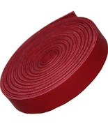Leather Strip Red 5/8 Inch Wide and 72 Inches Long by TOFL - $20.02
