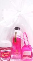 Bath & Body Works Forever Pink Hand Cream PocketBac & Hot Pink Holder Set - $17.59
