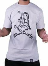 Dissizit! Uomo Inglese D Pistola Show Grigio Erica T-Shirt