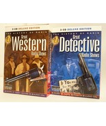 Topics Entertainment Great Detective and Great Western Radio Shows Audio... - $9.40