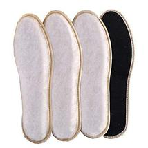 3 Pairs of Warm Thicken Insoles Breathable Plush Insoles,E4 - $15.51