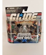 GI Joe Combat Heroes Snake Eyes Timber wolf Zartan 2-pack Hasbro 2008 - $9.89