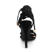 Ruffl Gladiator Party LALA High IKAI Heels Ankle Shoes Sexy Strap Women Sandals ZqqS5wP