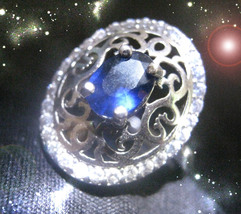 HAUNTED RING BLOOD MOON ECLIPSE SUPER MOON MASTER VESSEL OF EXTREME MAGICK  - $202.22