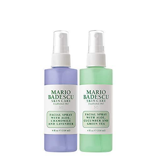 Mario Badescu Facial Spray with Lavender and Facial Spray with Cucumber Duo 4 oz