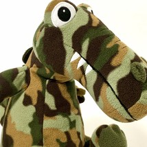 Melissa & Doug Plush Wally Crocodile Alligator Camo Camouflage Stuffed Animal - $21.29