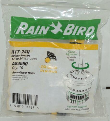 Rain Brid R17 24Q A84550 Yellow Rotary Nozzle Quarter Circle Pack of 10