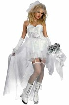 Bride Deceptions Sexy 80's Pop Bride Teen Girls Size Womens 12-14 - $9.99