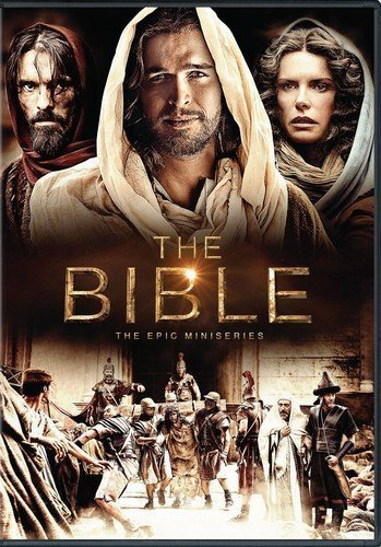 The bible the epic miniseries   dvd 4 disc set   10 episodes