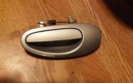 2005 Dodge Neon OEM Outer Door Handle Rear Left Silver image 1