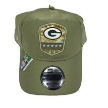 New Era 9Twenty Green Bay Packers Salute To Service Cap Hat Adjustable G... - $36.95