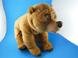 "Awesome Disney Brother Bear Plush 12"" Embroidered Eyes  Great Face  Hasbro - $13.85"