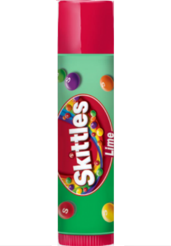 Lip Smacker Skittles LIME Candy Flavored Lip Balm Gloss Chap Stick Baby Lips