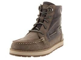 Sperry Top-Sider Women's Peak Blvd Graphite/Grey Boots 6 - $119.99