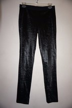 French Connection Fast Lacquer Wave Legging black sz XS NWT - $29.65