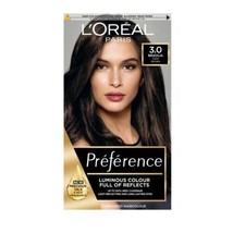 L'oreal Preference 3.0 Brasilia Dark Brown Luminous Hair Dye Permanent Grey Cove - $17.03